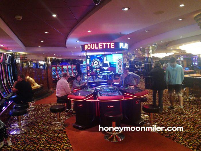 ハネムーンクルーズでカジノ