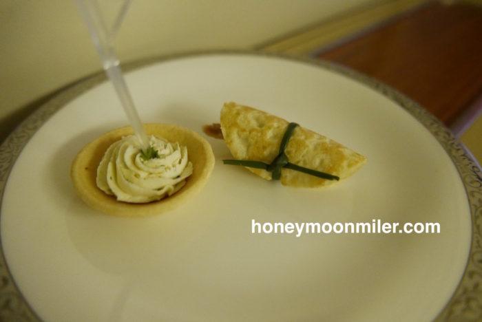 タイ航空ファーストクラス料理